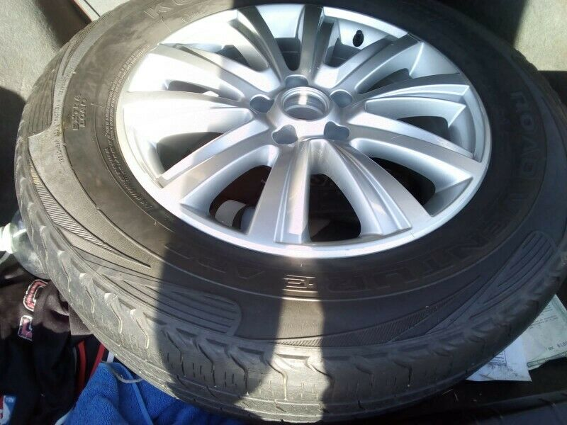 "18"" VW Amarok original mag with used tyre to use for spare wheel R2350."