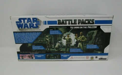 Training on the Falcon 2010 STAR WARS Legacy Collection Battle Pack Packs MIB