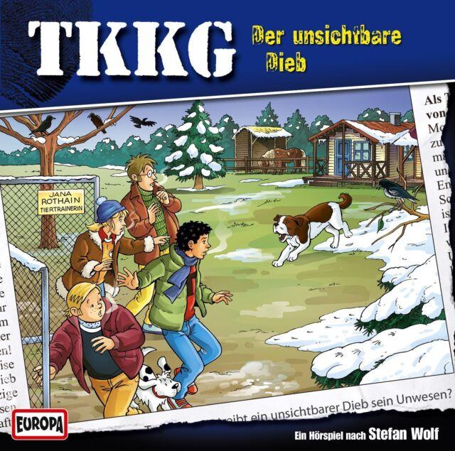 CD * TKKG - HSP - FOLGE 185 - DER UNSICHTBARE DIEB # NEU OVP =