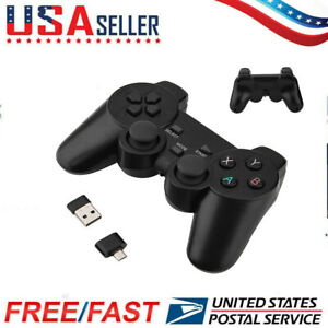 2.4GHz Wireless Smart Gamepad Game Controller for Smart TV Box Mobile Phone US