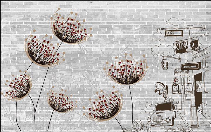 3D Graffiti Strokes 240 WallPaper Murals Wall Print Decal Wall Deco AJ WALLPAPER