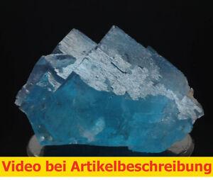 7484-Fluorit-super-blau-ca-4-6-5-cm-Minerva-Mine-USA-Illinois-Cave-in-Rock-MOVIE