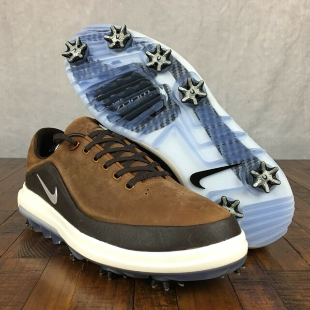 6874b4cfd Nike Air Zoom Precision Golf Shoe Sample Suede Brown 866065-200 Mens ...