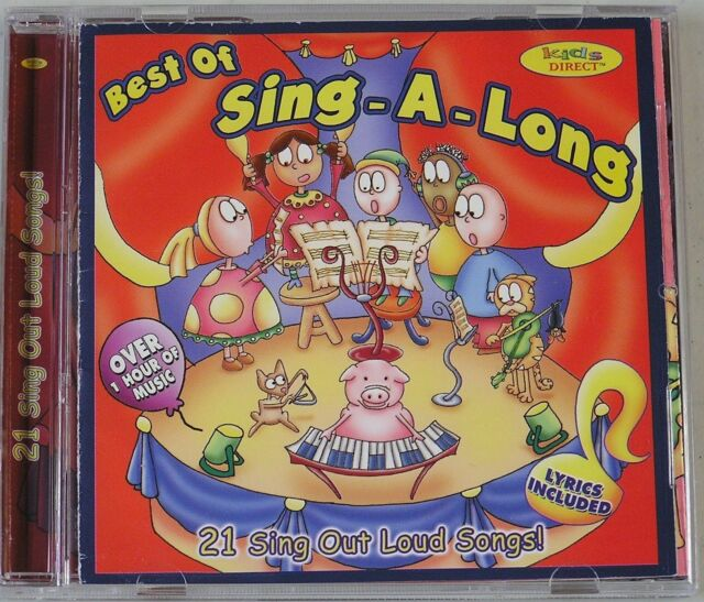 Various Artists Best Of Sing A Long Cd 21 Songs CD