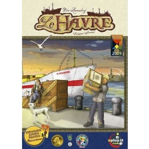 LE Havre, NEW Italian Edition-Board Game, New, Italian
