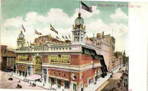 Vintage Postcard - The Hippodrome Building - Un-Posted New York City NY #3131