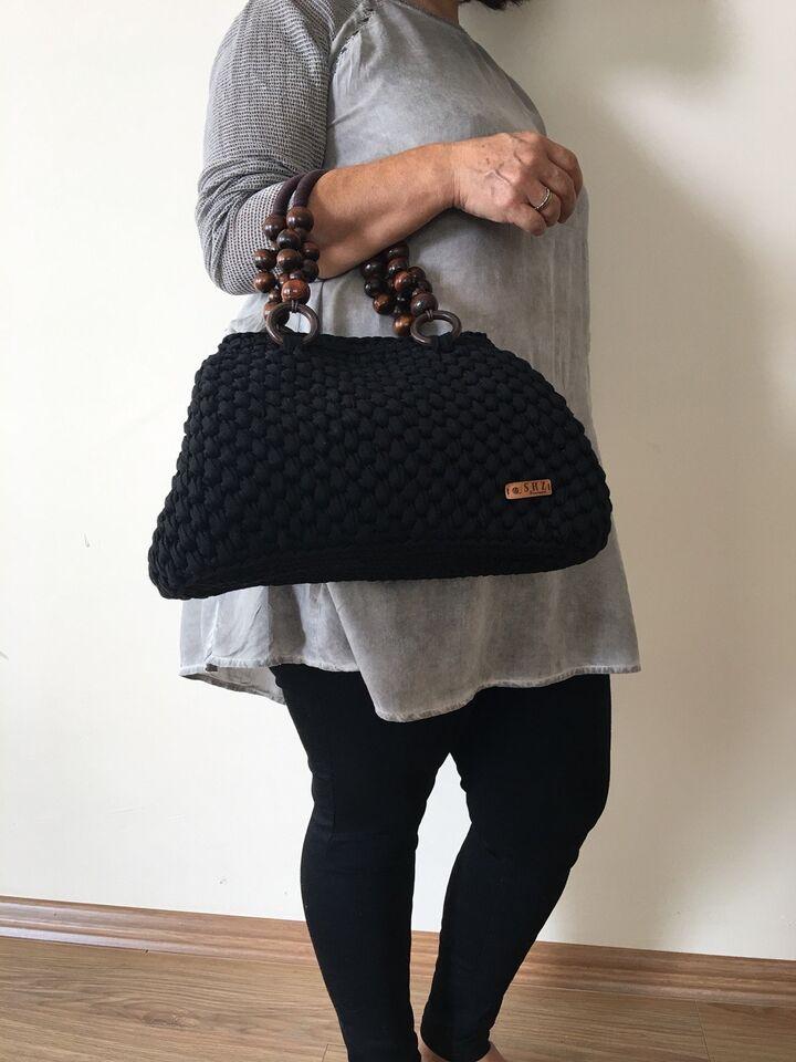 Festtaske, andet mærke, andet materiale