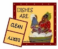 Mammy Dishwasher Magnet 2 (clean/dirty) Ship Free