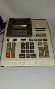 a0317967e125 Vintage County of Los Angeles MLK Hospital Casio R-1203 Printing ...