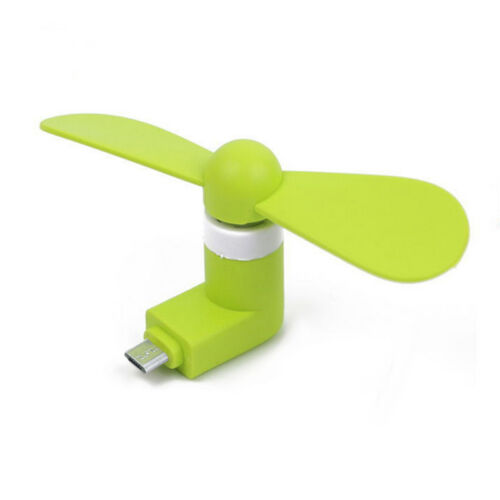 Portable Type-C//Android For Micro USB Mobile Phone Mini Cooling Fan Super Mute