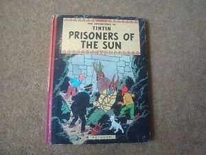 Image Is Loading Tintin 1962 Prisoners Of The Sun First Edition