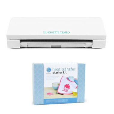Silhouette V2 CAMEO Digital Cutting Machine Bundle