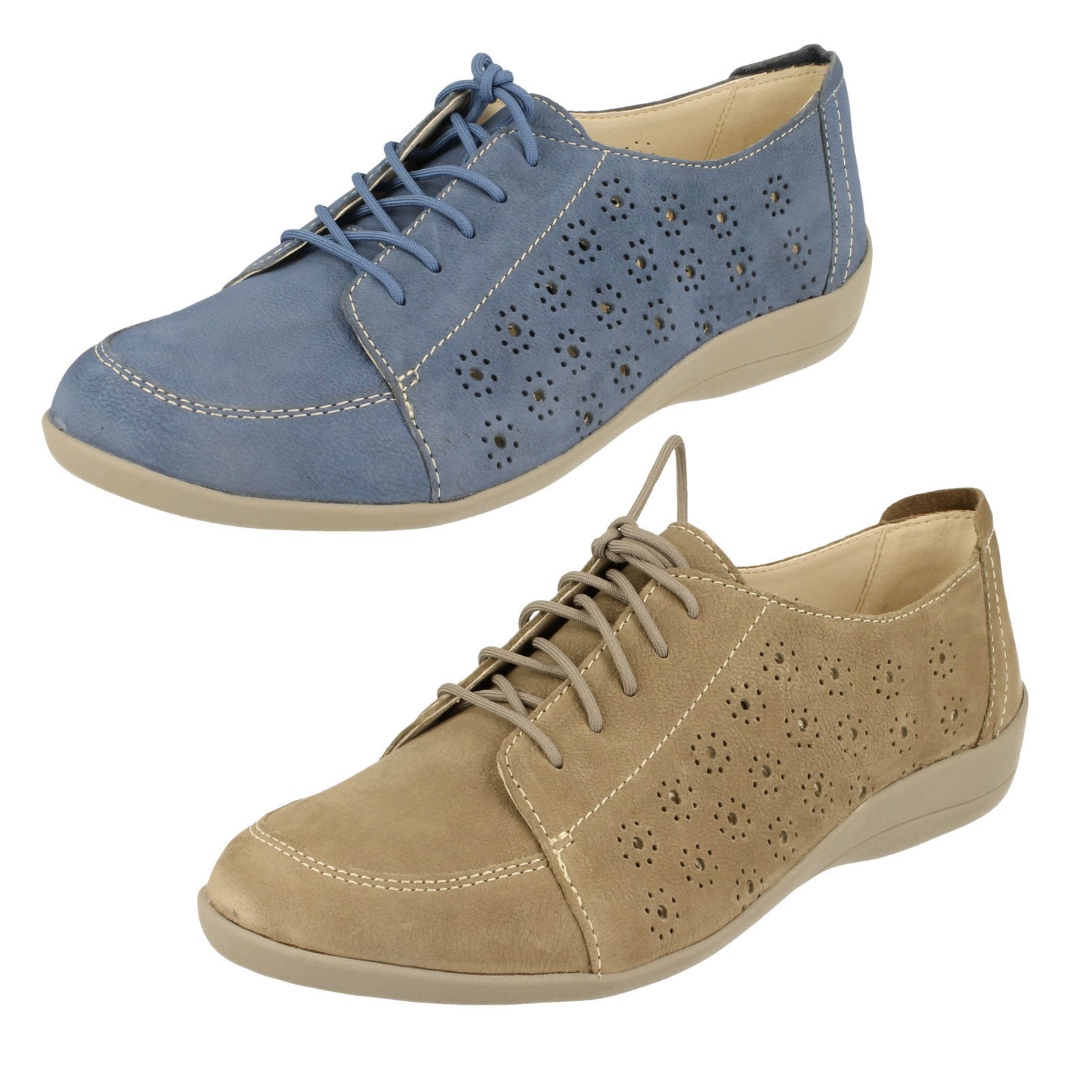 Ladies Padders Padders Ladies Extra Wide Fitting Shoes - Darcy 905461