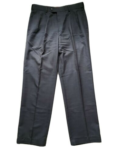 Luis Rafael Rosso Men's Dress Pants 34x32 Gray