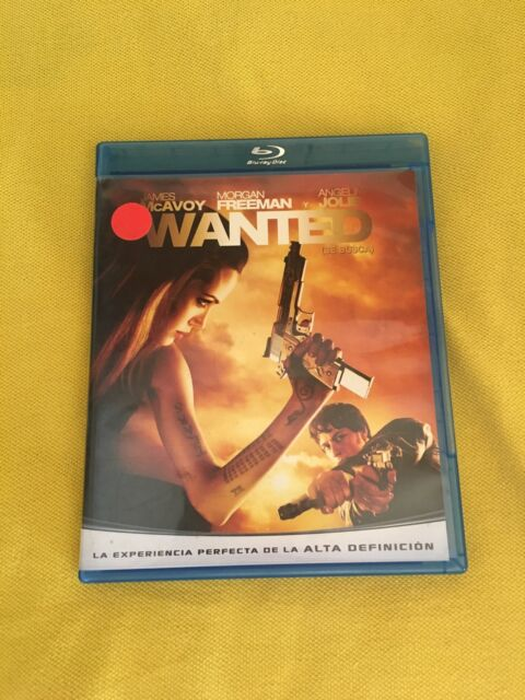 WANTED BLU RAY CASTELLANO