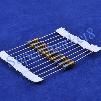 10pcs 680 Ohm 680R 1/2W Carbon Comp Composition Resistor ALLEN Style