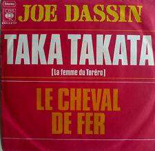 "7"" 1972 CV PACO IN VG++ ! JOE DASSIN : Taka Takata"