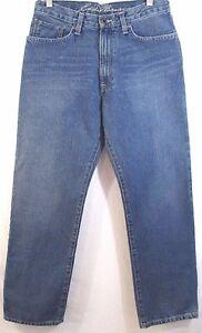 Eddie-Bauer-Jeans-Men-039-s-Size-30-X-30-Relaxed-Medium-Cotton-Denim