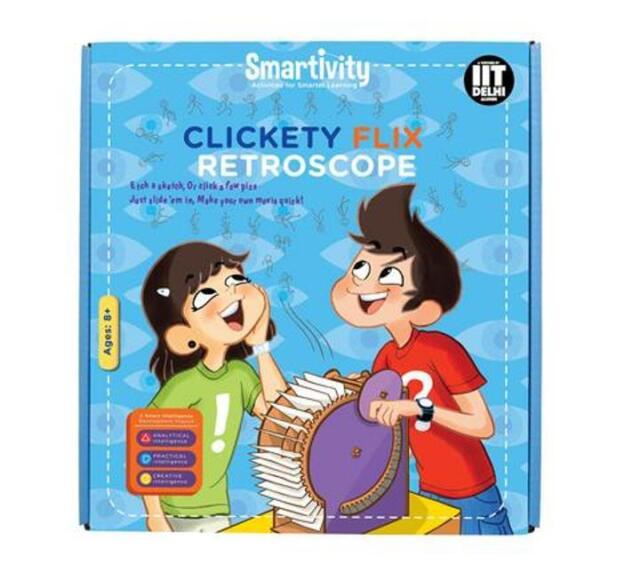 Smartivity Clickety Flix Retroscope Age 8+ Science Kit DIY