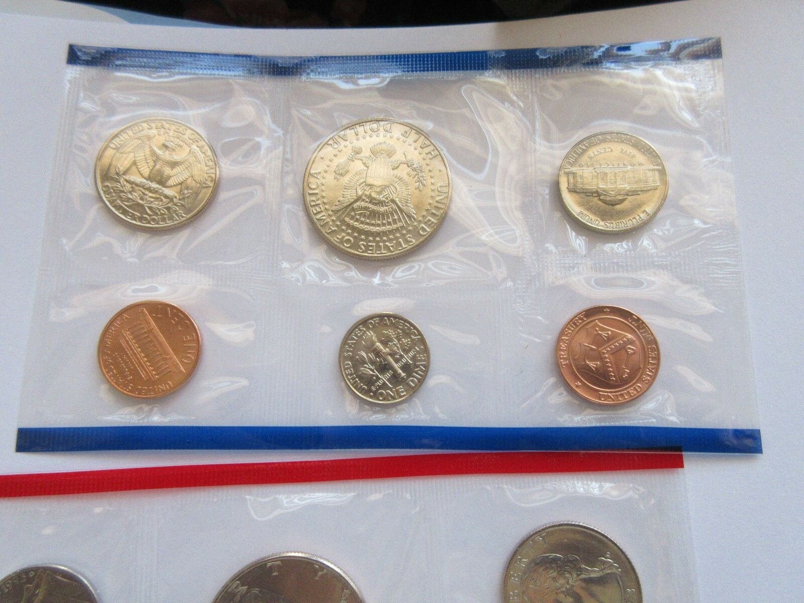 1993 United States Mint Uncirculated Coin Set With P an