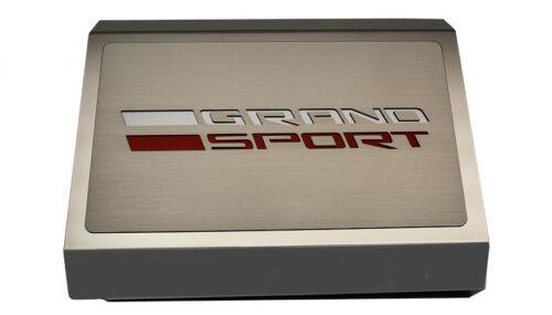 2016-2017 C7 Corvette Grand Sport Fuse Box Cover Grand Sport Style