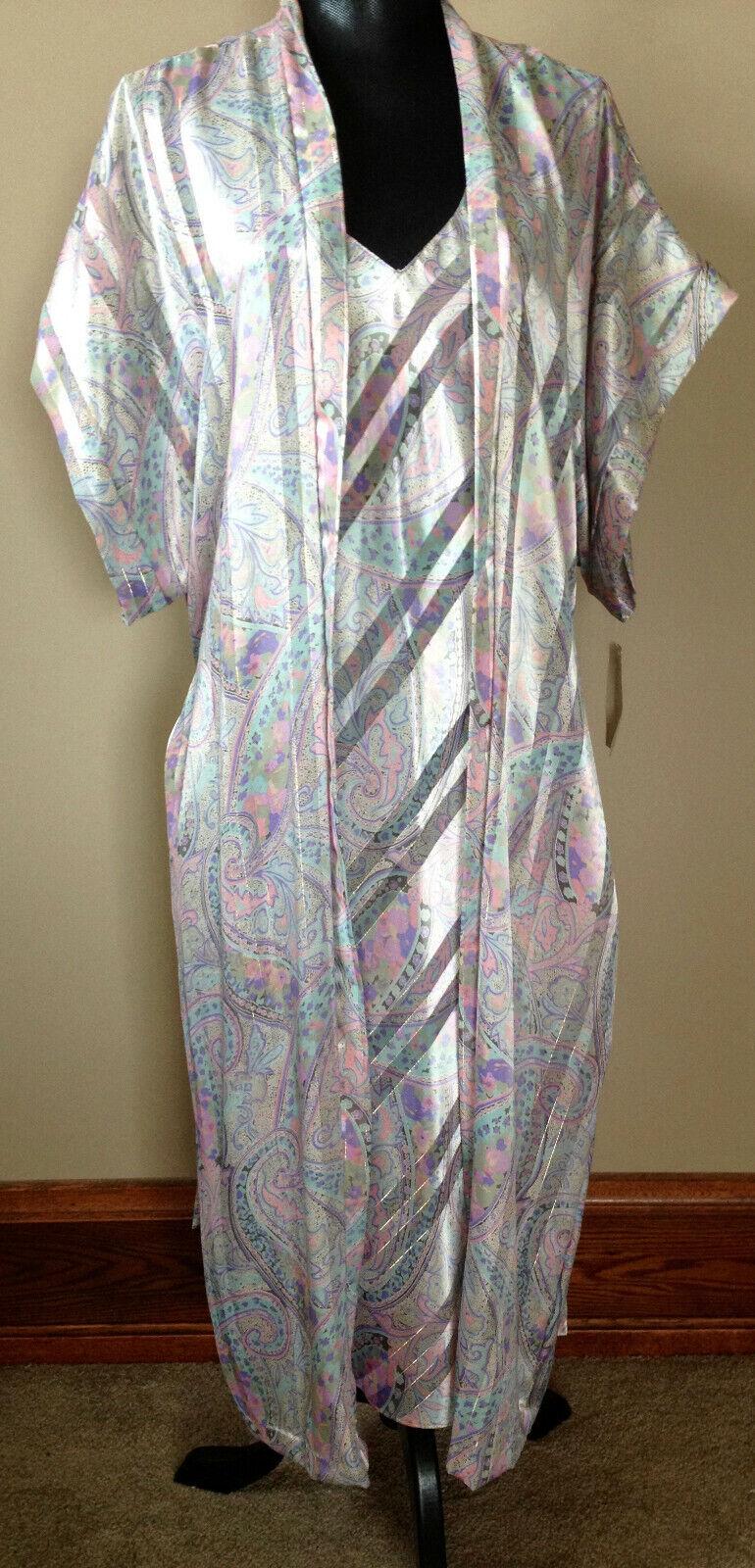 Vintage Lucie Ann II Nighty & Robe Set NWT - image 5