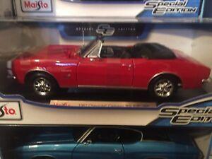 1-18-1967-Chevrolet-Camaro-cabrio-RS-SS-396-American-Muscle-Car-1-18-Rosso