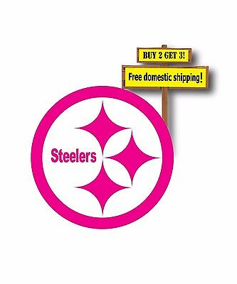 Dallas Cowboys Hot Pink Breast Cancer Awareness decal//sticker Die Cut