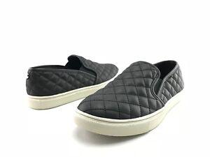 9ff5b27a9ff NEW Steve Madden Ecentrcq Women s Black Slip On Fashion Sneakers US ...