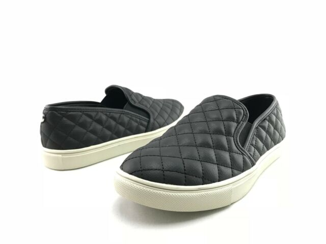 6d832fe2c9 NEW Steve Madden Ecentrcq Women's Black Slip On Fashion Sneakers US 8 M  Shoes C0