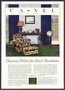 1929 Streit Furniture Cincinnati Ohio Chair Photo Ca Vel Velvet