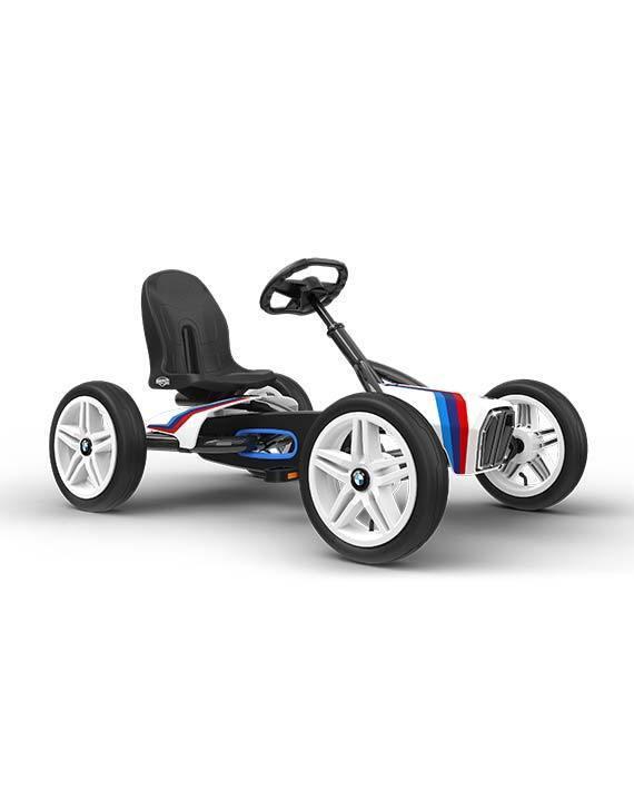 BERG TOYS BMW STREET RACER go kart pedali professionali robusti ferro gomma