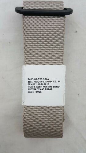 Military Issued Rigger/'s Belt-NEW