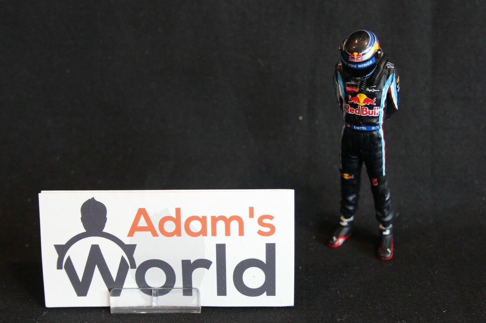 Top Model Collection figurine Sebastian Vettel (GER) Red Bull Racing 2010 (AK)
