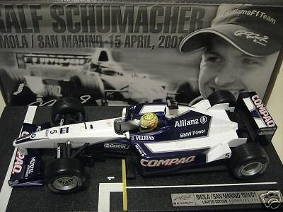 F1  WILLIAMS BMW FW23 1re victoire SCHUMACHER HOT WHEELS 55697 formule 1 voiture