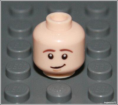 Lego Batman x1 Flesh Dual Head Scared Smile Castle City Boy Girl Minifigure NEW