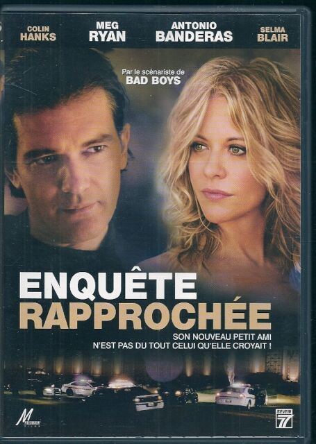 DVD ZONE 2--ENQUETE RAPPROCHEE--HANKS/RYAN/BANDERAS/BLAIR