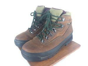 4f99daf277e Details about Cabela's 81-1305 Rimrock Hikers Gore-Tex Brown Trail Hiking  Boots Womens US 8.5B