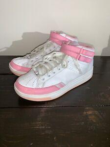 Reebok 50 Cent G MID Zapatillas Zapatos RosaUnit Blanco