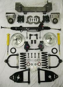 Details about 1949 - 1954 Chevy Car Mustang II Bolt On Power Front End  Suspension Kit 2
