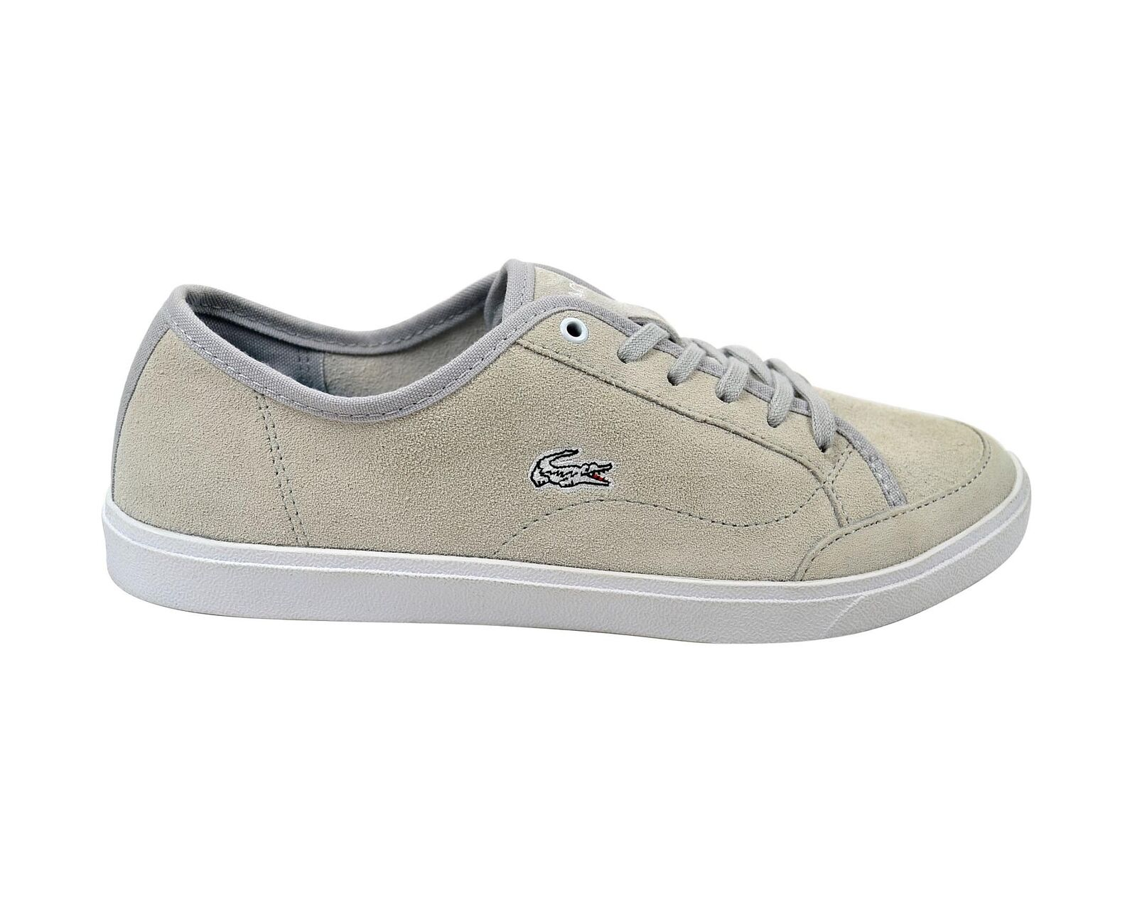 Lacoste Polidor Jaw SPW light grey/light grey Schuhe/Sneaker grau Größenauswahl!