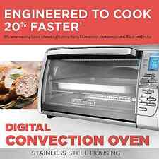 Extra Large Digital Countertop Convection Oven Toaster Electric Stainless Steel
