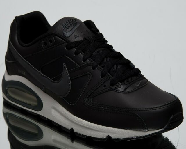 27171840fe5a Nike Air Max Command Leather New Men s Low Lifestyle Shoes Black Grey  749760-001