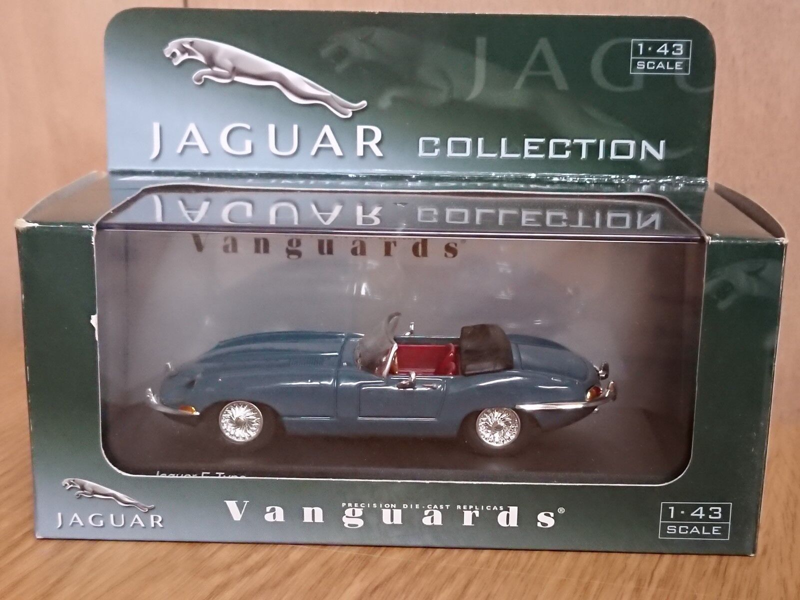 RARE Corgi VA04905 VA04905 VA04905 E-Type Jaguar Soft-Top Cotswold bluee Ltd Edition of 4200 481572