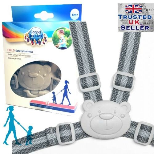 Baby Kid Herness walking learning assistant safety washable Todler Canpol babies