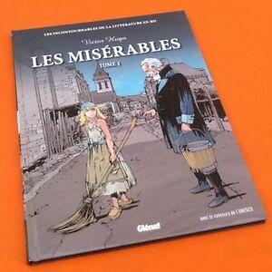 BD Victor Hugo Les misérables  (2010)  57 pages Editions Glénat