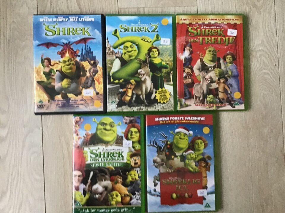 SHREK, DVD, animation