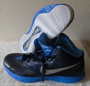 competitive price 891a9 7dd90 Image is loading NEW-Nike-Lunar-Hyperquickness-Mens-Basketball-Shoes-16-