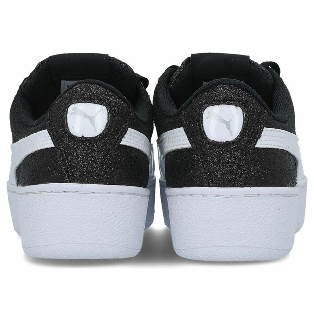 PUMA VIKKY femme PLATFORM GLITZ JR chaussures femme VIKKY baskets cuir en daim glit gliiter 607c5c