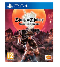 Black Clover: Quartet Knights (PS4)  NEW AND SEALED - IN STOCK - QUICK DISPATCH